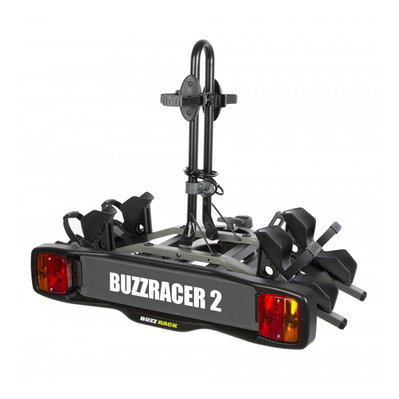 BUZZ RACK - RACER 2 Bikes - Hitch Rear Bike Rack - black