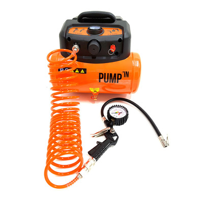 PUMP'IN - TANK 230V - Mini Compressor + Reservoir - 6L
