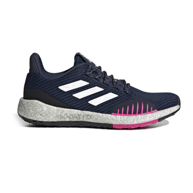 ADIDAS - PULSEBOOST HD WNTR W - Running Shoes - Women's - conavy/ftwwht/shopnk