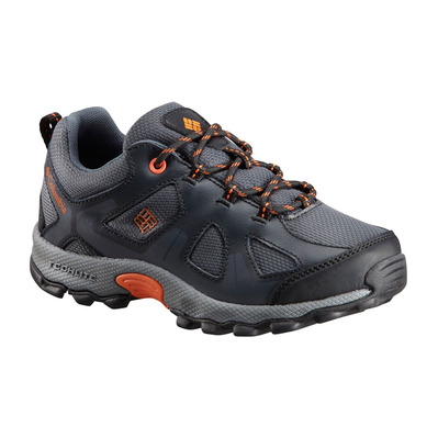 COLUMBIA - PEAKFREAK™ XCRSN WP - Hiking Shoes - Junior - graphite/heatw