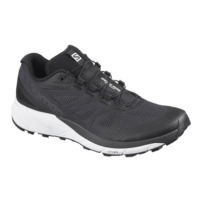 SALOMON - SENSE RIDE - Running Shoes - Women's - black/white/phantom