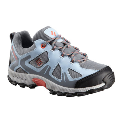 COLUMBIA - PEAKFREAK™ XCRSN WP - Hiking Shoes - Junior - monument/melon