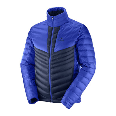 SALOMON - HALOES DOWN - Down Jacket - Men's - night sky