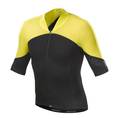 MAVIC - COS ULT SL - Maillot Homme black/yellow