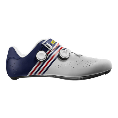 MAVIC - COSMIC PRO SL LA FRANCE LTD - Chaussures de route Homme white/blue