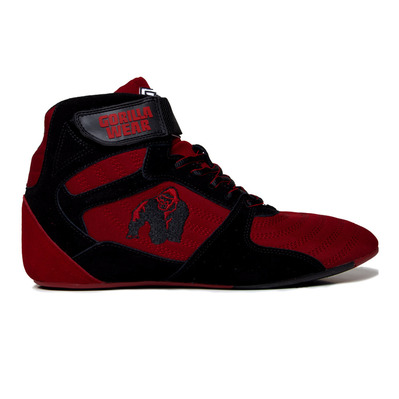 GORILLA WEAR - PERRY HIGH TOPS PRO - Zapatillas de musculación red/black