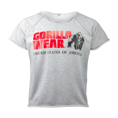GORILLA WEAR - CLASSIC WORK OUT - Camiseta hombre grey