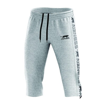 AIRNESS - AERO - 3/4 Jogging Pants - Men's - heather grey