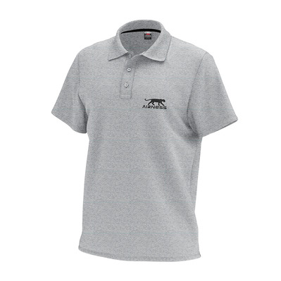 AIRNESS - TRIBUNE - Polo - Men's - heather grey