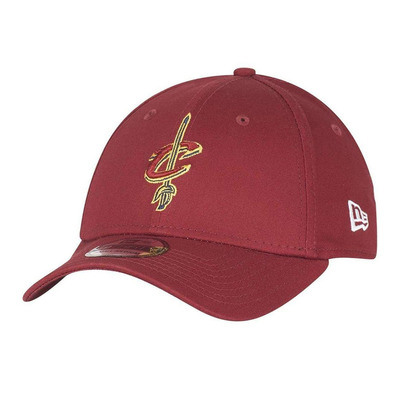 NEW ERA - 39THIRTY NBA CLEVELAND CAVALIERS - Casquettes burgundy