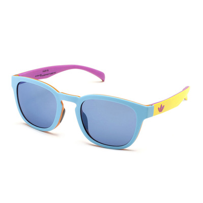 ADIDAS - AOR001 BA7033 - Sunglasses - sky led/ multicolour/blue mirror