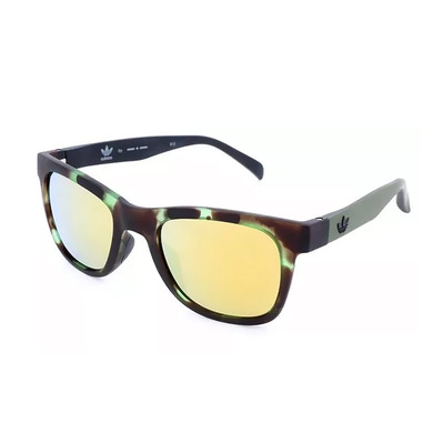 ADIDAS - AOR004 - Sunglasses - havana green/red mirror