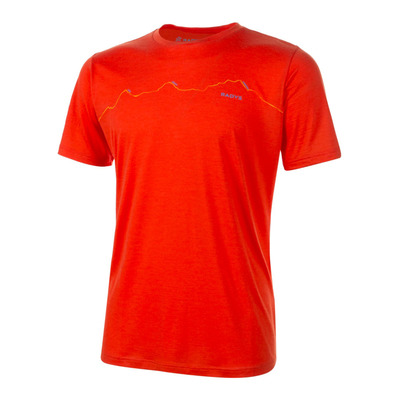 R'ADYS - R9 LIGHT MERINO - Camiseta hombre red clay