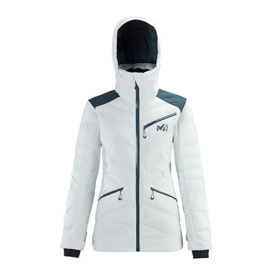MILLET - BAQUEIRA - Jacket - Women's - moon white/orion blue