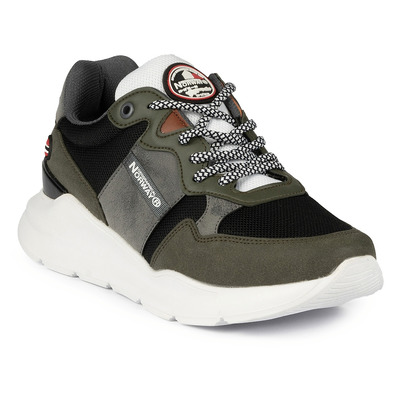 GEOGRAPHICAL NORWAY - GNM19025-11 - Sneakers homme khaki