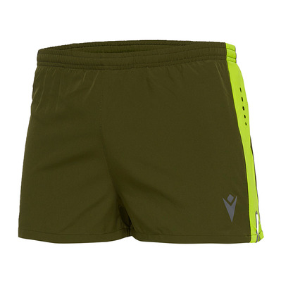 MACRON - RUN CHINOOK FBJ TOM - Shorts - Men's - military green/yellow