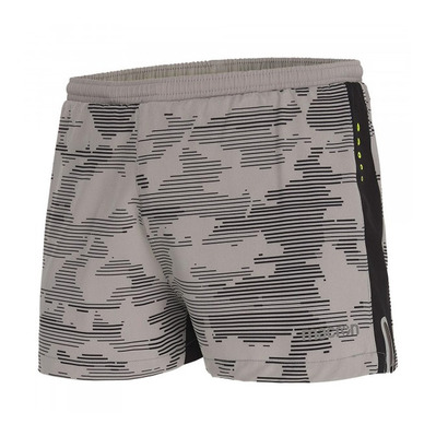 MACRON - RUN CHINOOK SBJ TOM - Shorts - Men's - printed grey camo trace