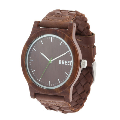 BREEF - ORIGINAL SA - Watch - braided brown