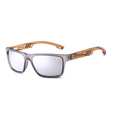 FELER - CLIFF LAYERED - Polarised Sunglasses - silver/silver