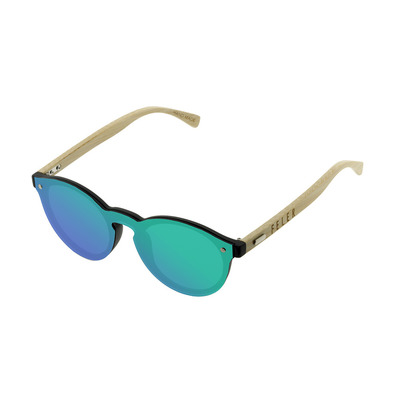 FELER - FOREST FULL SCREEN - Sunglasses - green/green