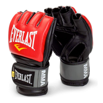 EVERLAST - GRAPPLING PRO STYLE - MMA Training Gloves - red