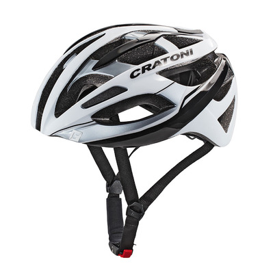CRATONI - C-BREEZE 2017 - Casco carretera white/black glossy