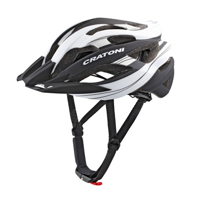 CRATONI - C-TRACER - Casco BTT black/white rubber