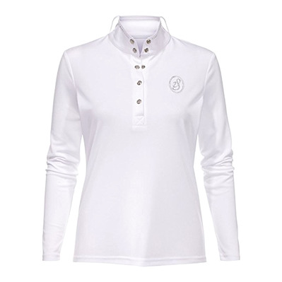 IMPERIAL RIDING - STARLIGHT - Competition Polo - Women's - white