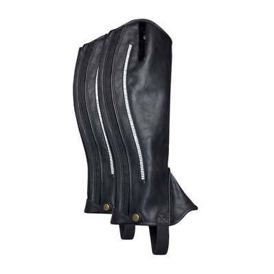 IMPERIAL RIDING - CRYSTAL IR - Mini-Chaps - black/silver
