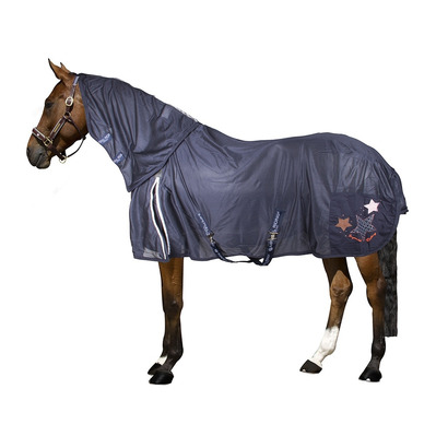 IMPERIAL RIDING - FLY AWAY - Fly Blanket - navy