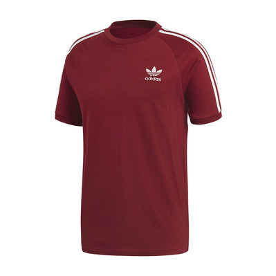 ADIDAS - ORIGINAL TREFLE - T-Shirt - Men's - burgundy/white
