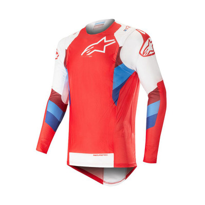 alpinestars - SUPERTECH - Maillot Homme red/white