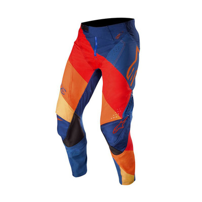 alpinestars - TECHSTAR VENOM - Pantalon Homme dark blue/red tangerine