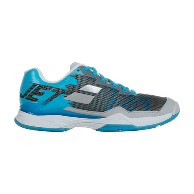 BABOLAT - JET MATCH I ALL COURT 2019 - Chaussures tennis Femme silver/horizon blue