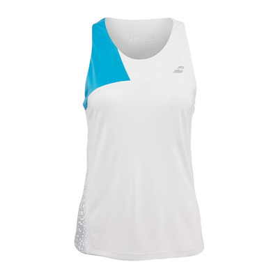 BABOLAT - PERFORMANCE - Camiseta de tirantes mujer white/horizon blue