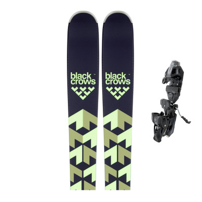 BLACK CROWS - ORB RT - Piste Skis + Bindings - Men's - PRD12 MBS B95 solid black