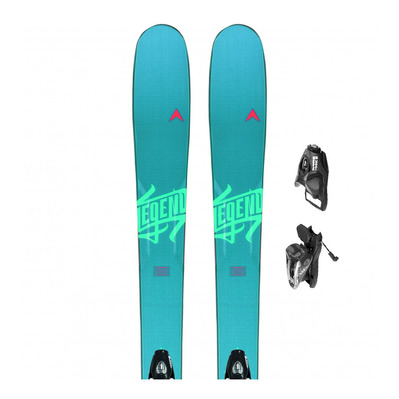 DYNASTAR - LEGEND W84 - Freeride Skis - Women's + Bindings - NX 11 B90 black