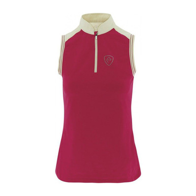 EQUITHEME - JERS.EQUITH - Competition Polo - Women's - raspberry