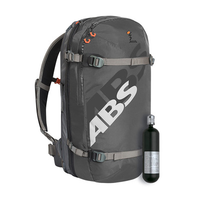 ABS - Abs-Airbag S.LIGHT BASE UNIT COMPACT + ZIP-ON 15L - Airbag Base Unit + Volume + Cartridge - rock grey