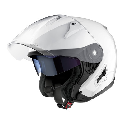 SENA - ECONO - Bluetooth Jet Helmet - bright white