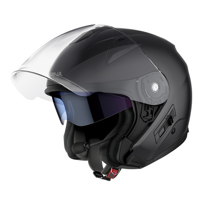 SENA - ECONO - Bluetooth Jet Helmet - matt black