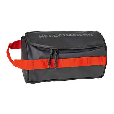 HELLY HANSEN - HH WASH BAG 2 3L - Trousse de toilette ebony/cherry tomato/c