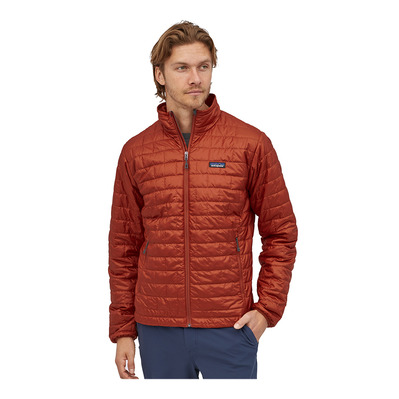 PATAGONIA - NANO PUFF - Doudoune Homme roots red