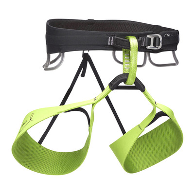 BLACK DIAMOND - SOLUTION HARNESS-HONNOLD EDTN Unisexe Verde
