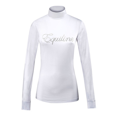 EQUILINE - ELSE - Polo Donna white