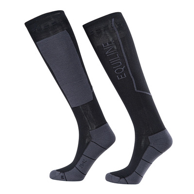 EQUILINE - CHILI - Chaussettes black
