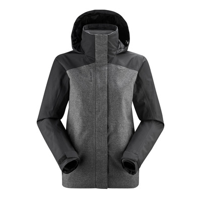 LAFUMA - JAIPUR GTX 3IN1 FLEECE - Chaqueta mujer black