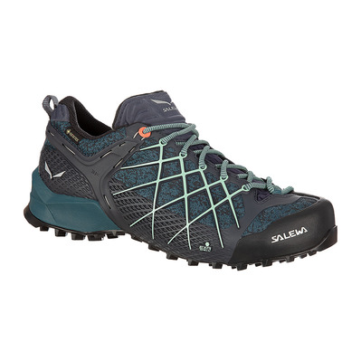 SALEWA - WILDFIRE GTX - Chaussures approche Femme ombre blue/atlantic deep