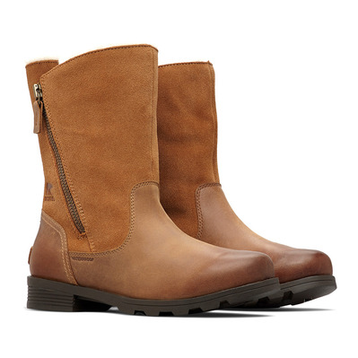 SOREL - EMELIE FOLDOVER - Chaussures Femme over-camel brown