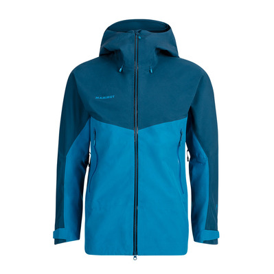 MAMMUT - Crater HS Hooded Jacket Men Homme sapphire-wing teal